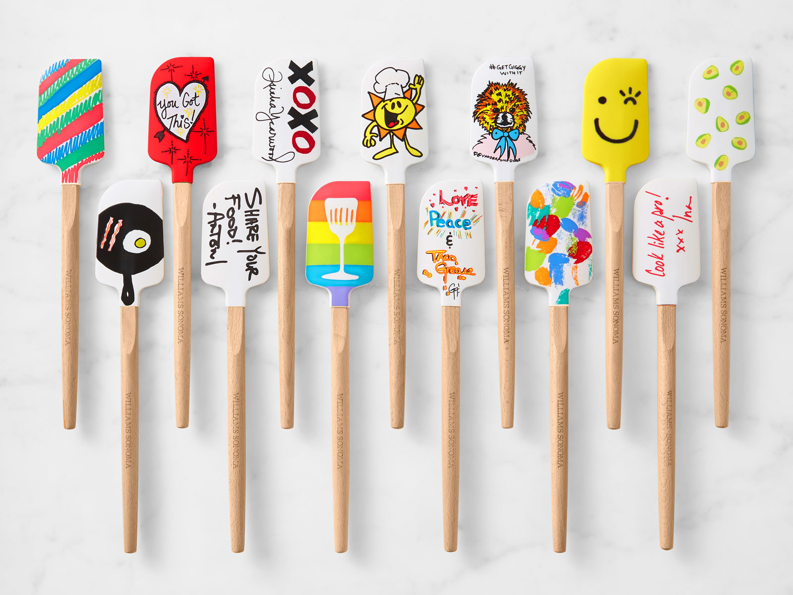 José Andrés, Ina Garten, Antoni Porowski, Guy Fieri, and Sean Brock Designed These Spatulas for Williams Sonoma