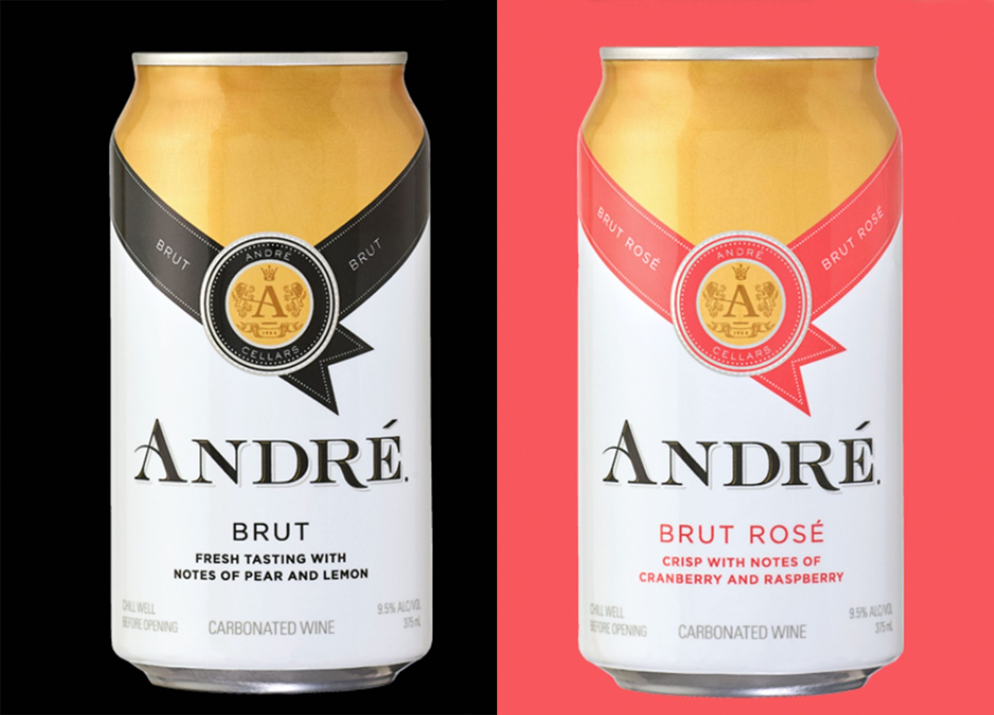 At Last, André Champagne Comes In Cans