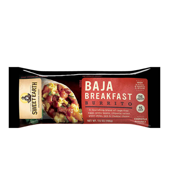 Sweet Earth Baja Breakfast Burrito