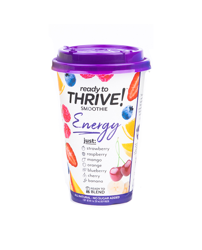 Best Smoothie: Thrive Energy Ready-to-Blend Smoothie