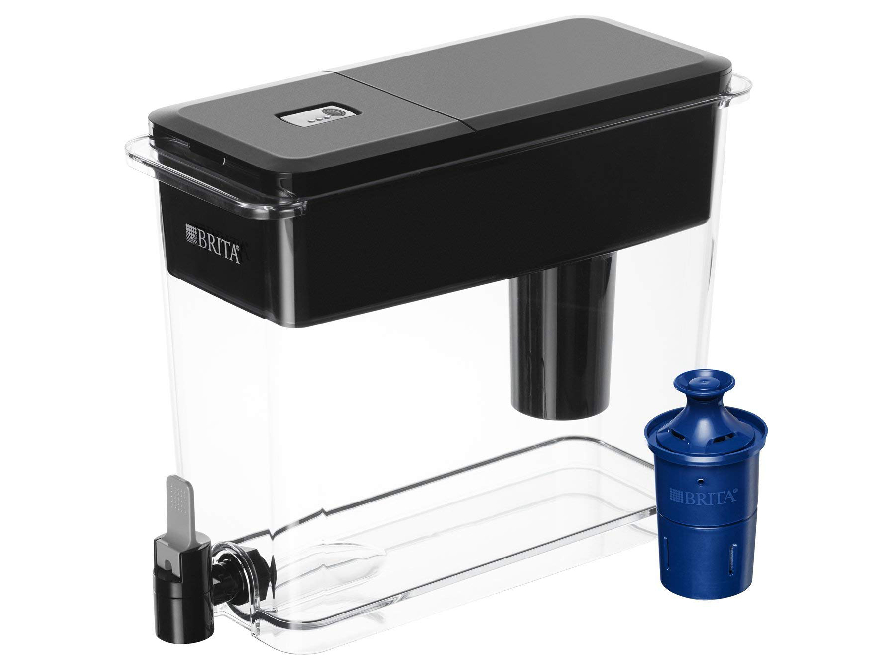 Brita Black Filtered Water Pitcher