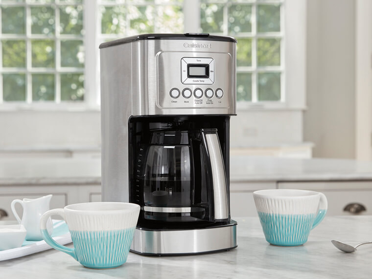 Thousands of People Use This Programmable Coffee Maker First Thing in the Morning — And It's on Sale