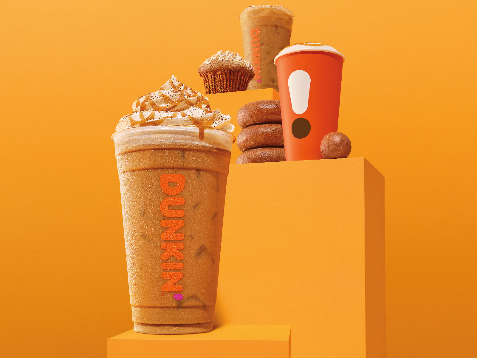 Dunkin' Adds Apple Cider Munchkins and Cinnamon Sugar Pumpkin Latte to Fall Menu