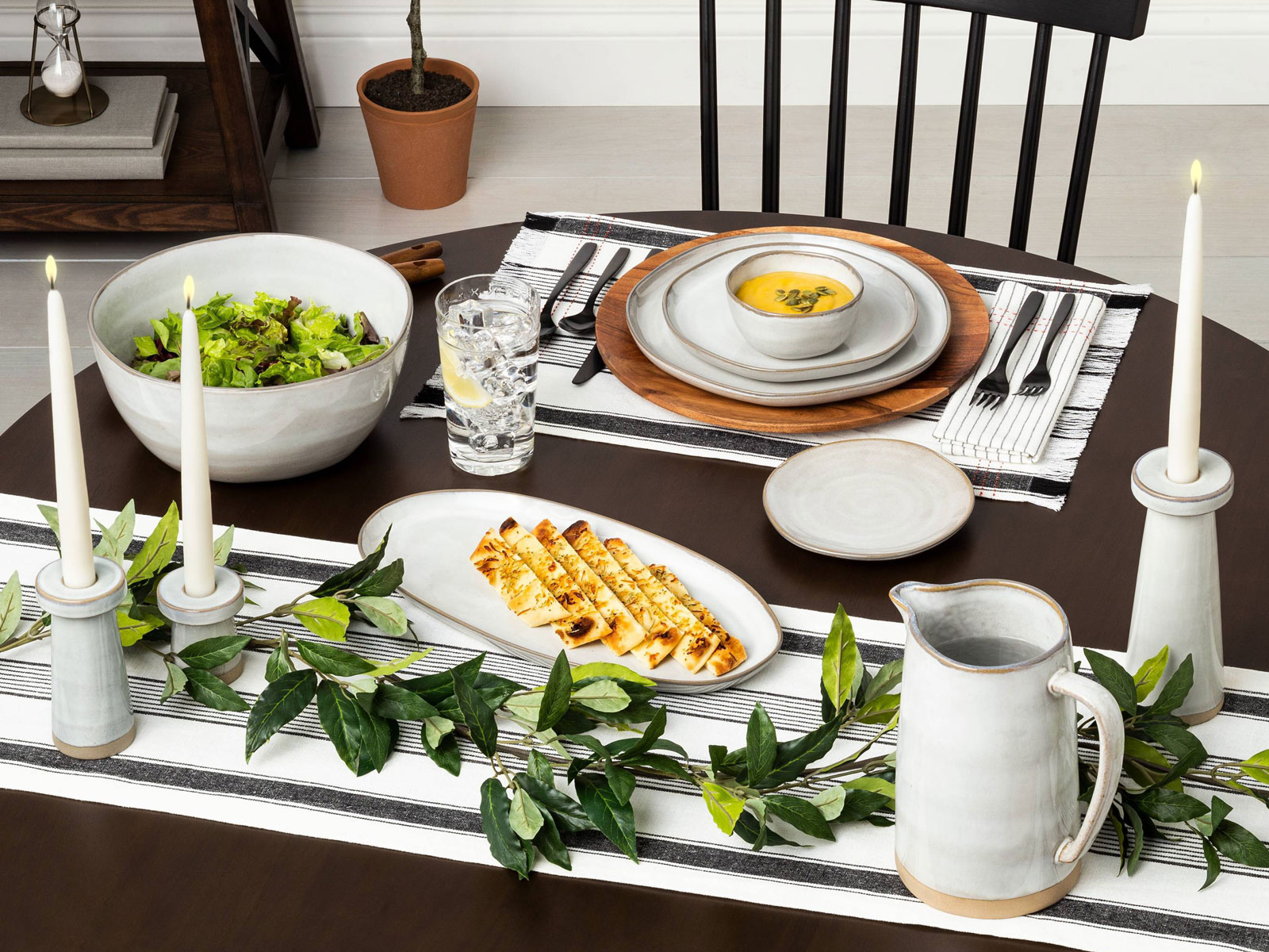 hearth and hand kitchen fall 2019 dinner table