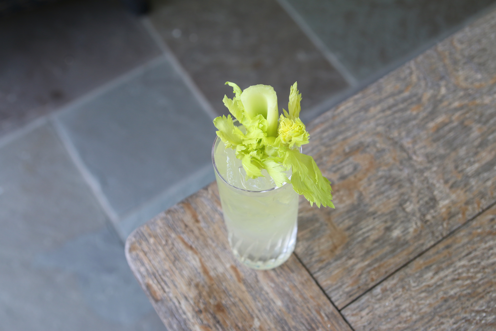 Like Savory Drinks? Grab This Celery Root Liqueur
