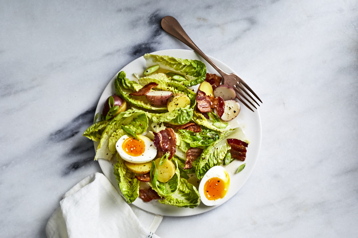 This Salad Is Topped with a Next-Level Bacon Dressing