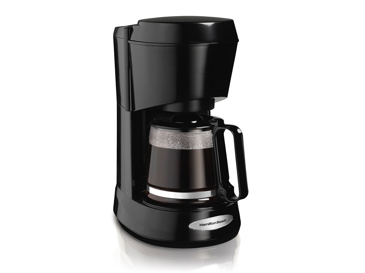 Hamilton Beach Coffee Maker with 5-Cup Glass Carafe