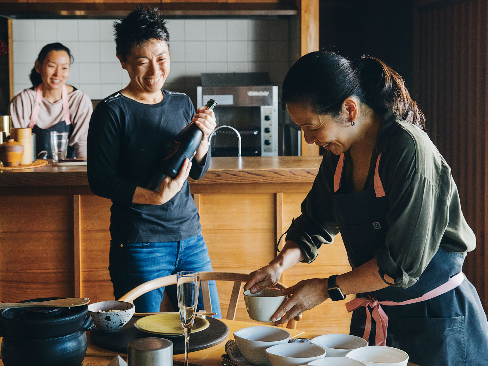Cooking with the World-Famous Kaiseki Chefs of n/naka