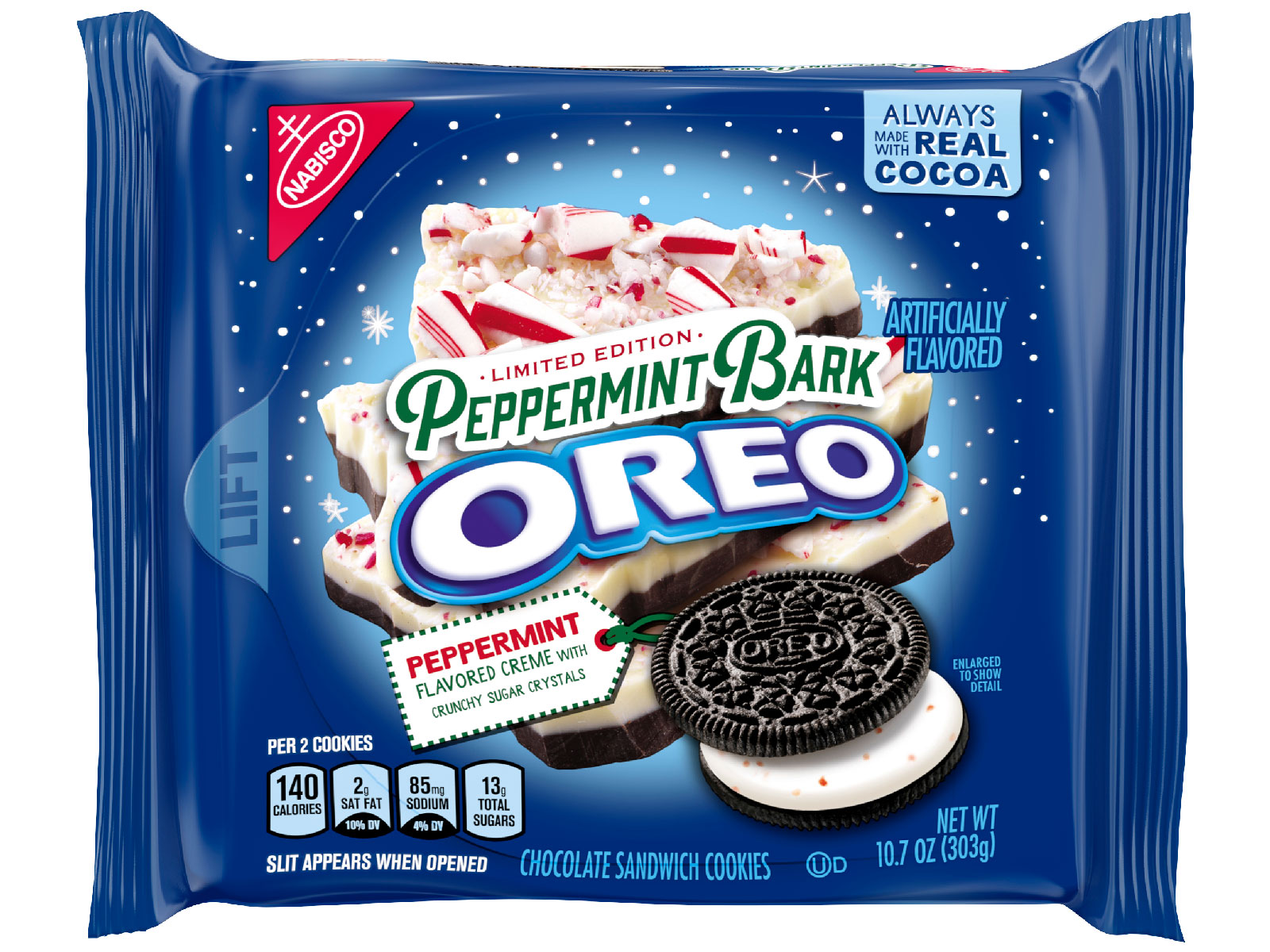 Peppermint Bark Oreos Are Arriving This Winter
