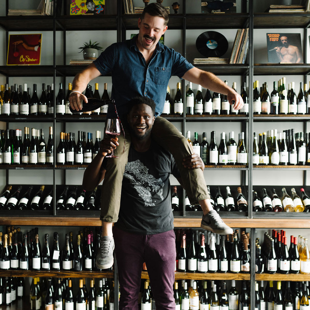 How Femi Oyediran and Miles White Amplify Wine Through Music