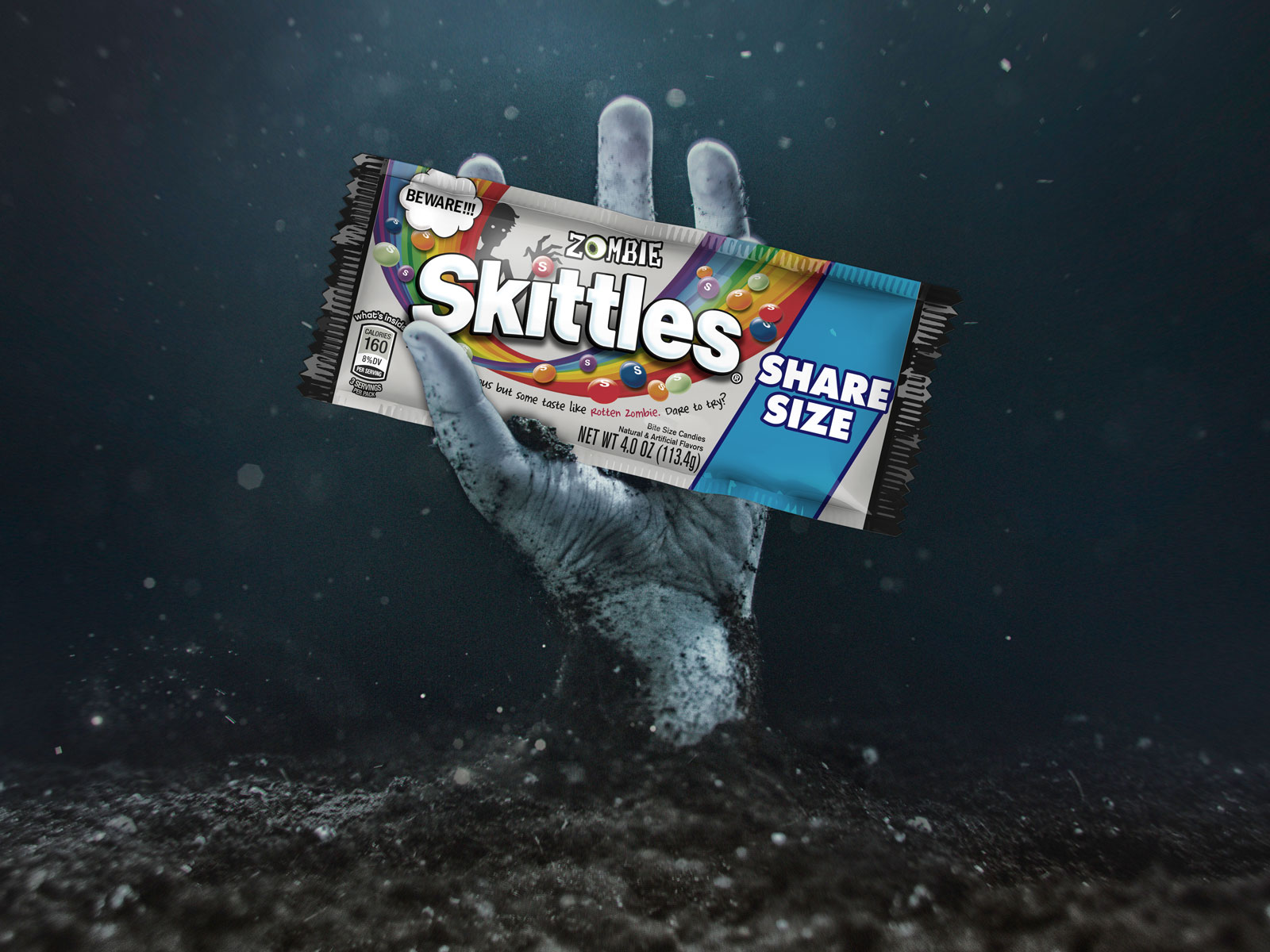 Zombie Skittles Will Finally Arrive This Halloween