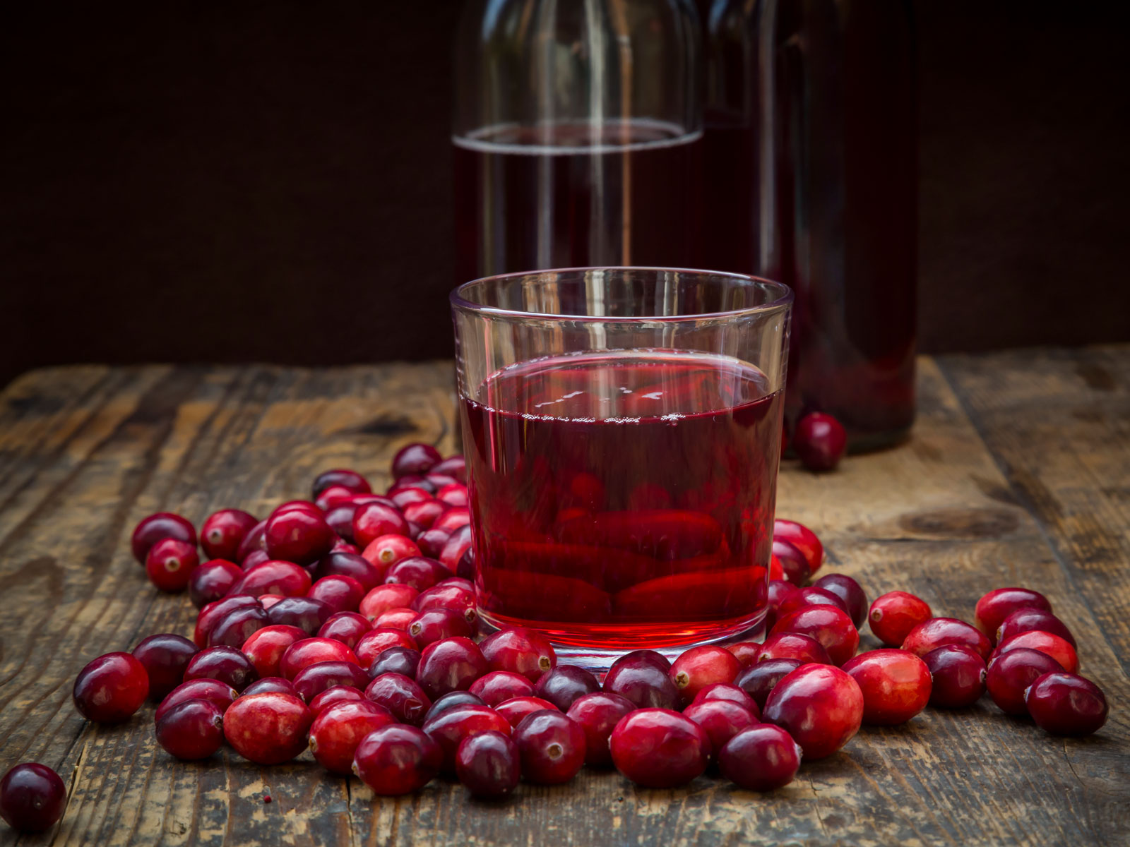 Hot Cranberry Juice Fall Cocktail