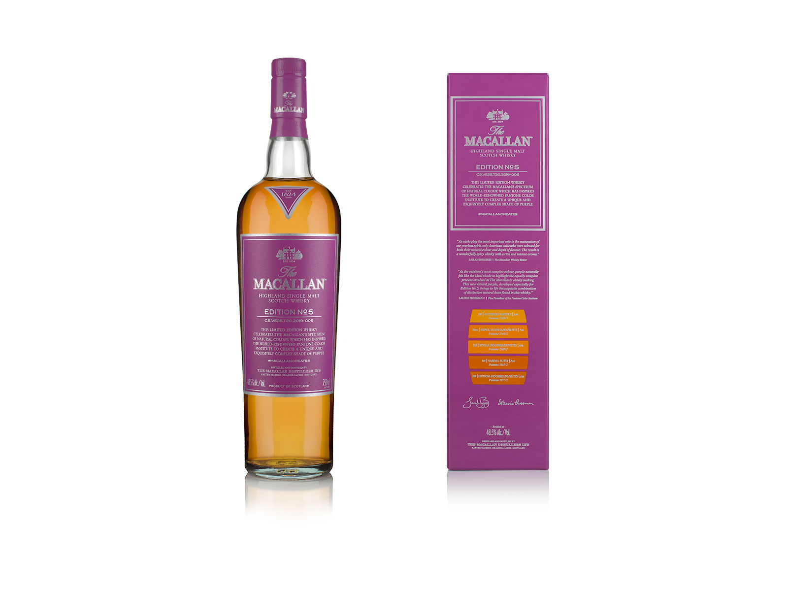 The Macallan and Pantone Created a Color Inspired by Whisky