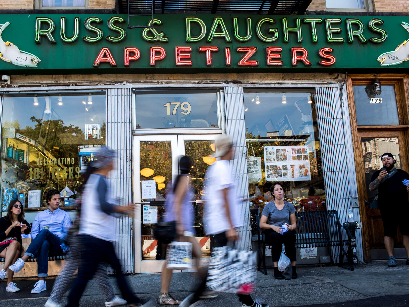 Russ & Daughters Exhibit