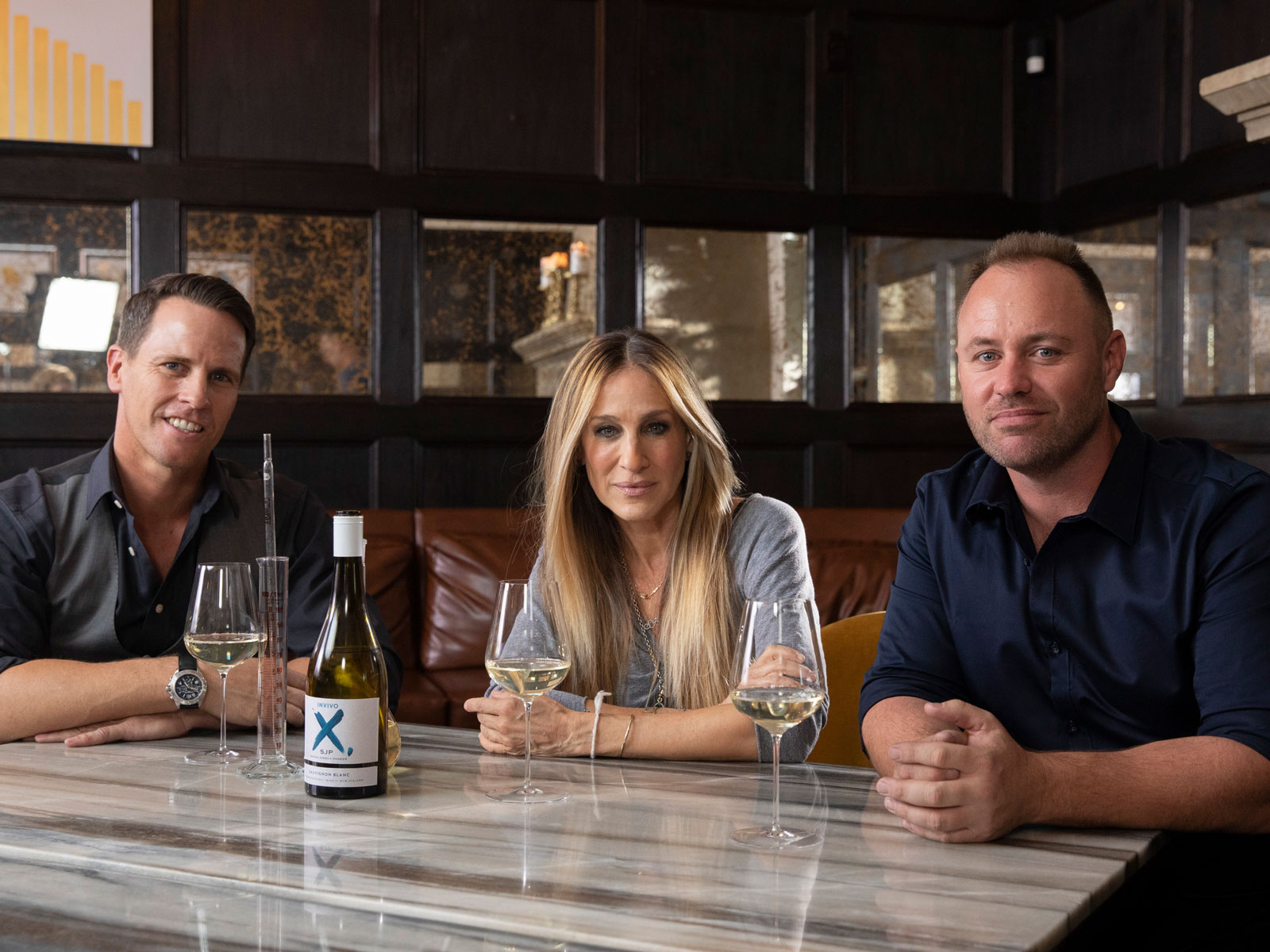 Invite & Co Sarah Jessica Parker Sauvignon Blanc launch