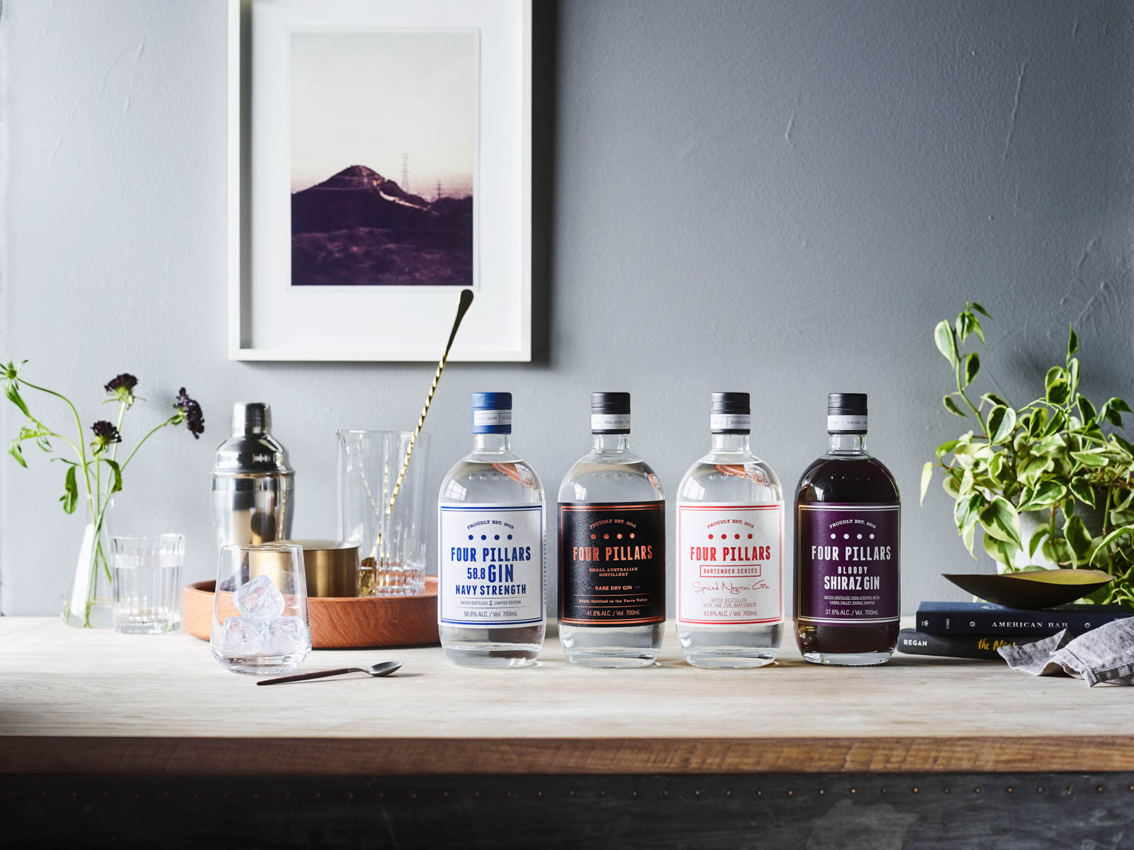 Sustainable Wines and Spirits Four Pillars Gin