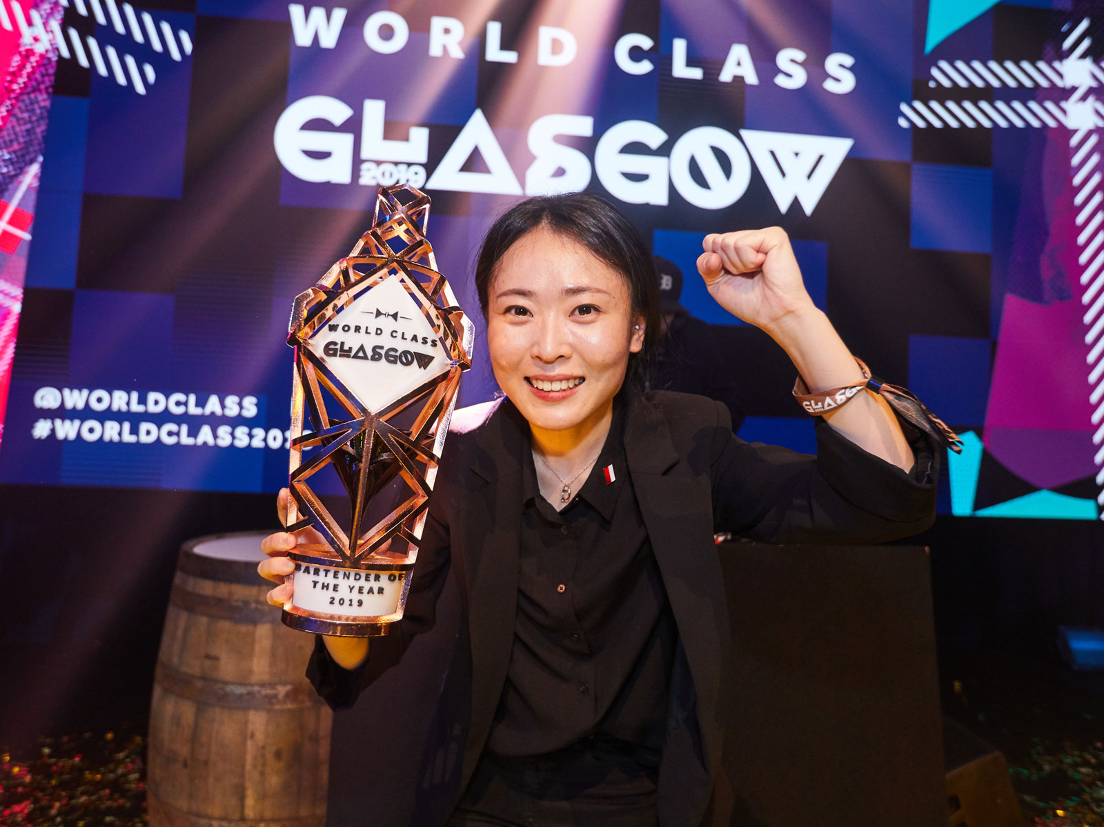 Bannie Kang Wins Diageo's Bartender of the Year