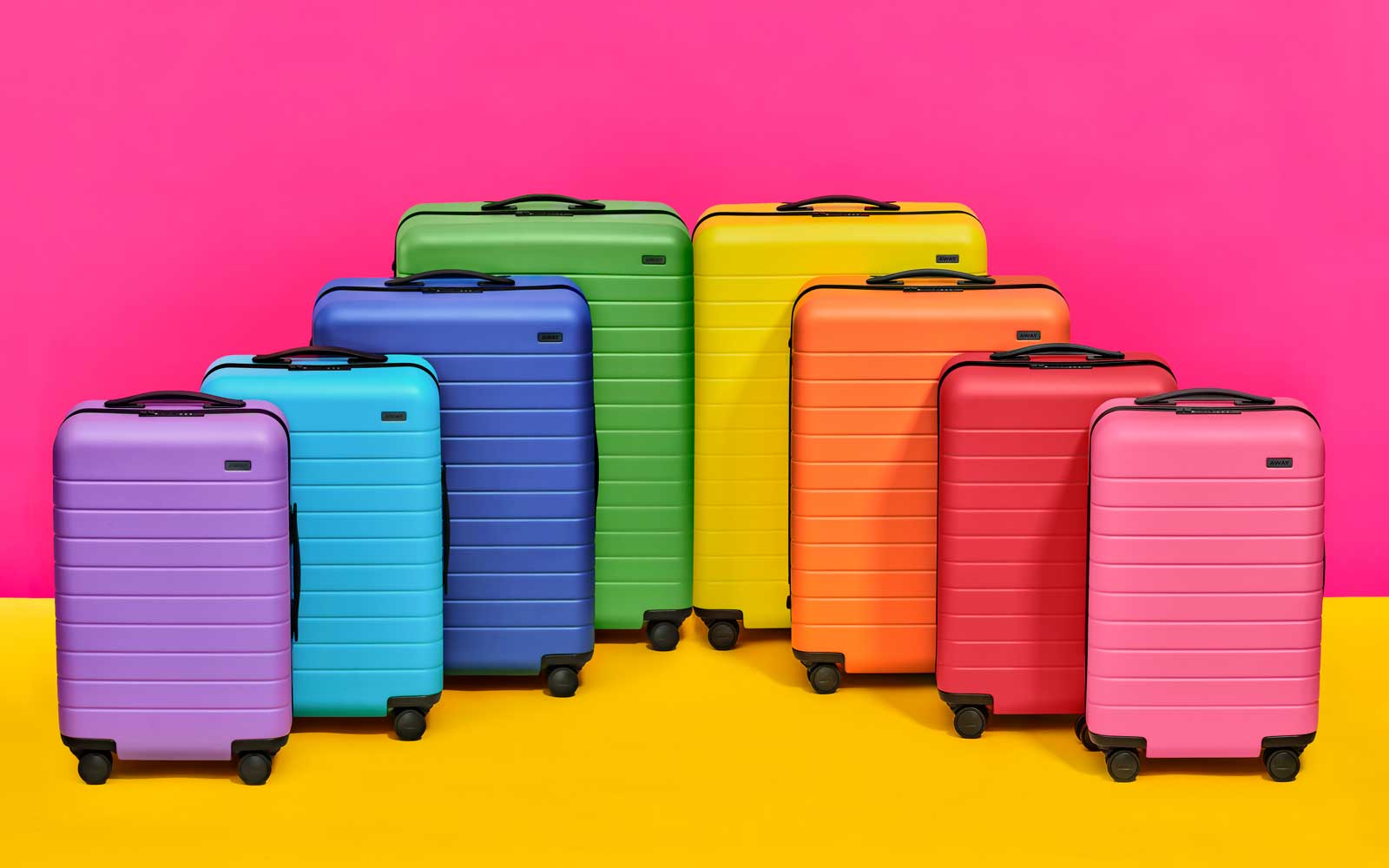 Away Is Releasing Its Most Colorful Luggage Ever Thanks to This New York City Bakery