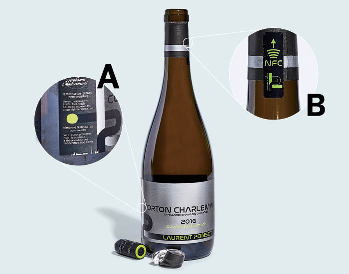 Anti-Counterfeiting Wine Tech