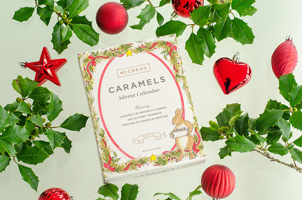 We Tasted the First of Its Kind, All-Caramel Advent Calendar — and It's Delicious