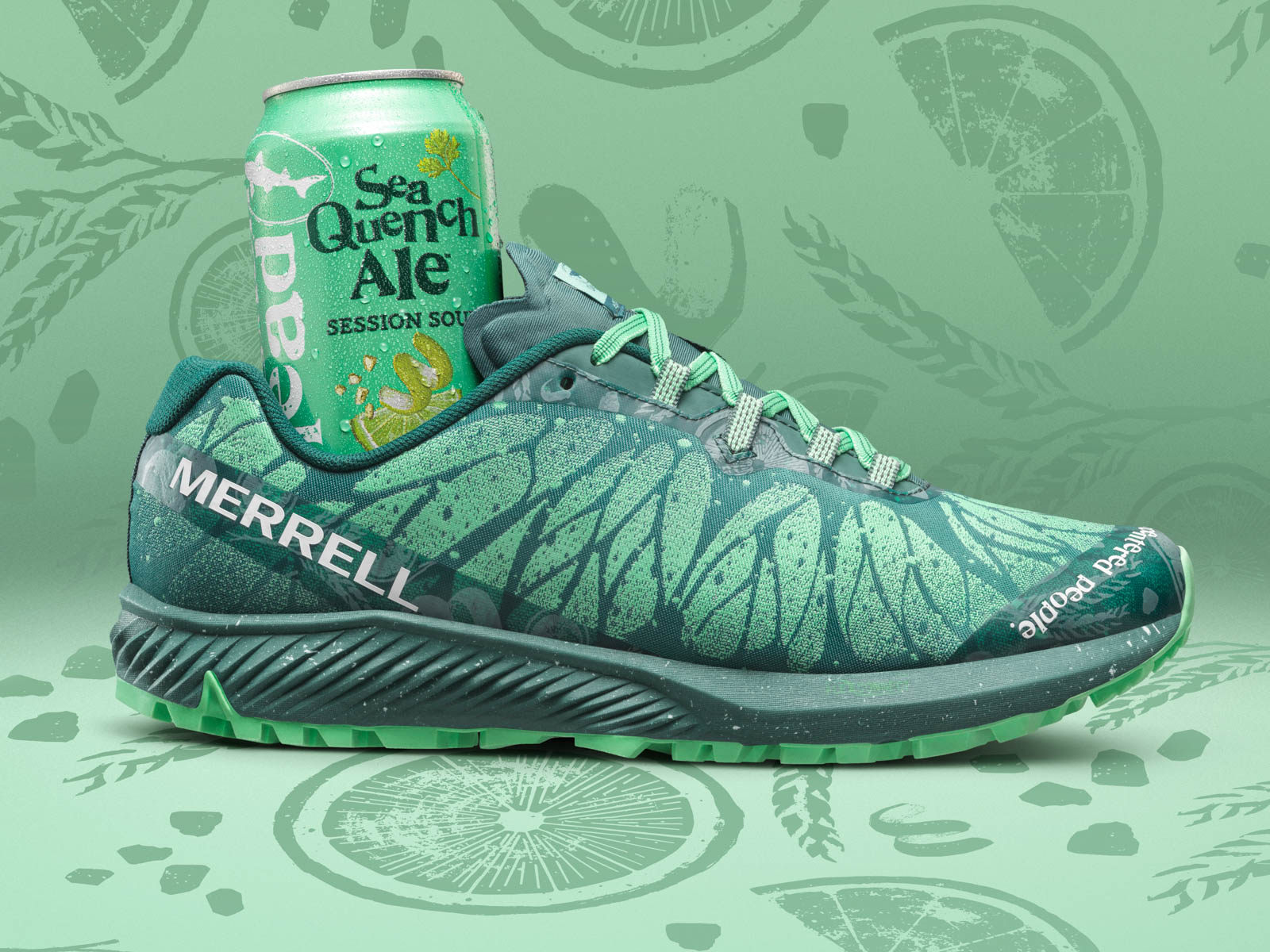 Dogfish Head Brewery Turned Its Beer for Runners into a Shoe