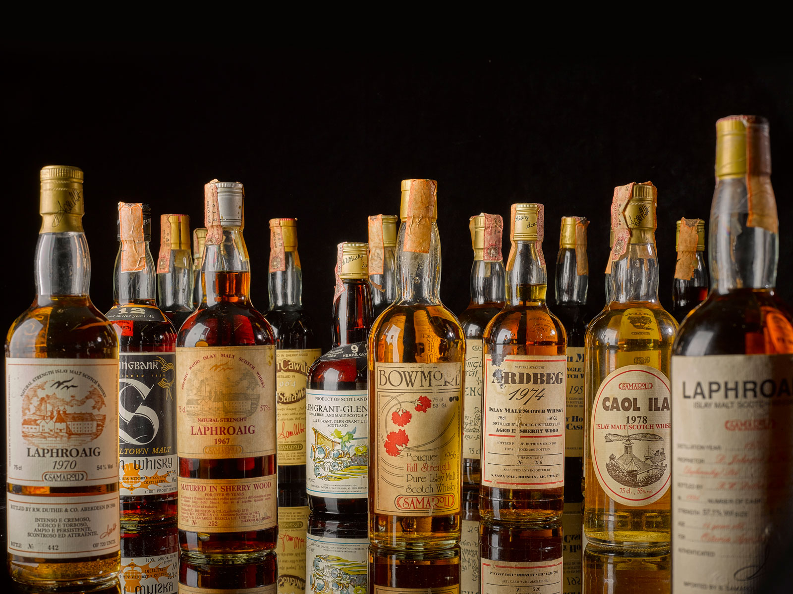 Sotheby's to Sell the 'Most Valuable Collection of Whisky' Ever Auctioned