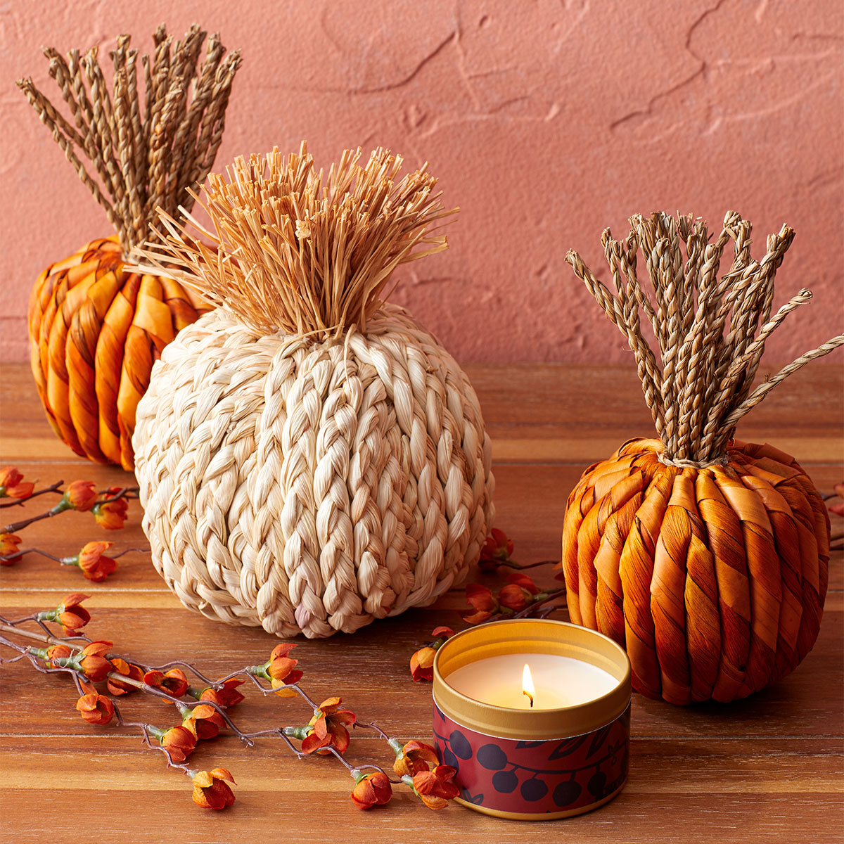 target fall decor pumpkins