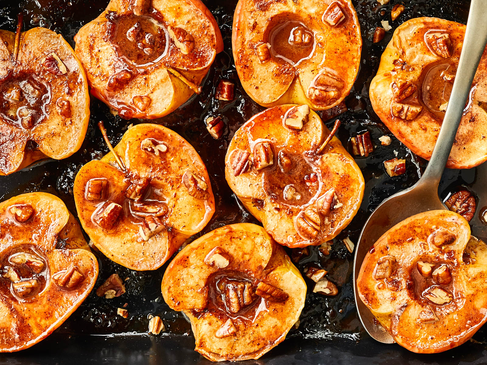 Spice Roasted Apples Recipe