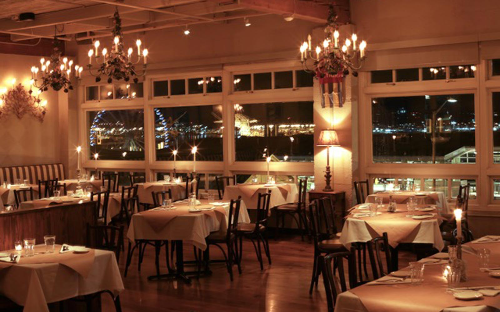 The 50 Most Romantic Restaurants in the U.S.