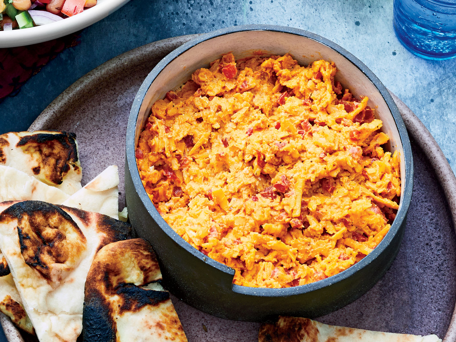 Achari Pimiento Cheese Spread