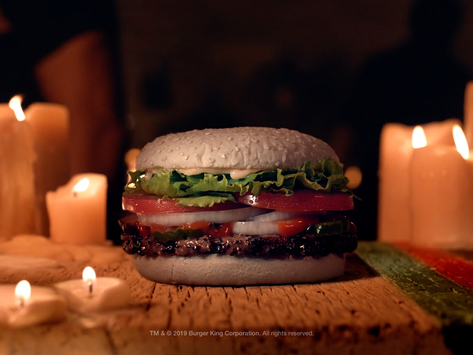 Burger King Turned Its Whopper Buns Ghostly White for Halloween