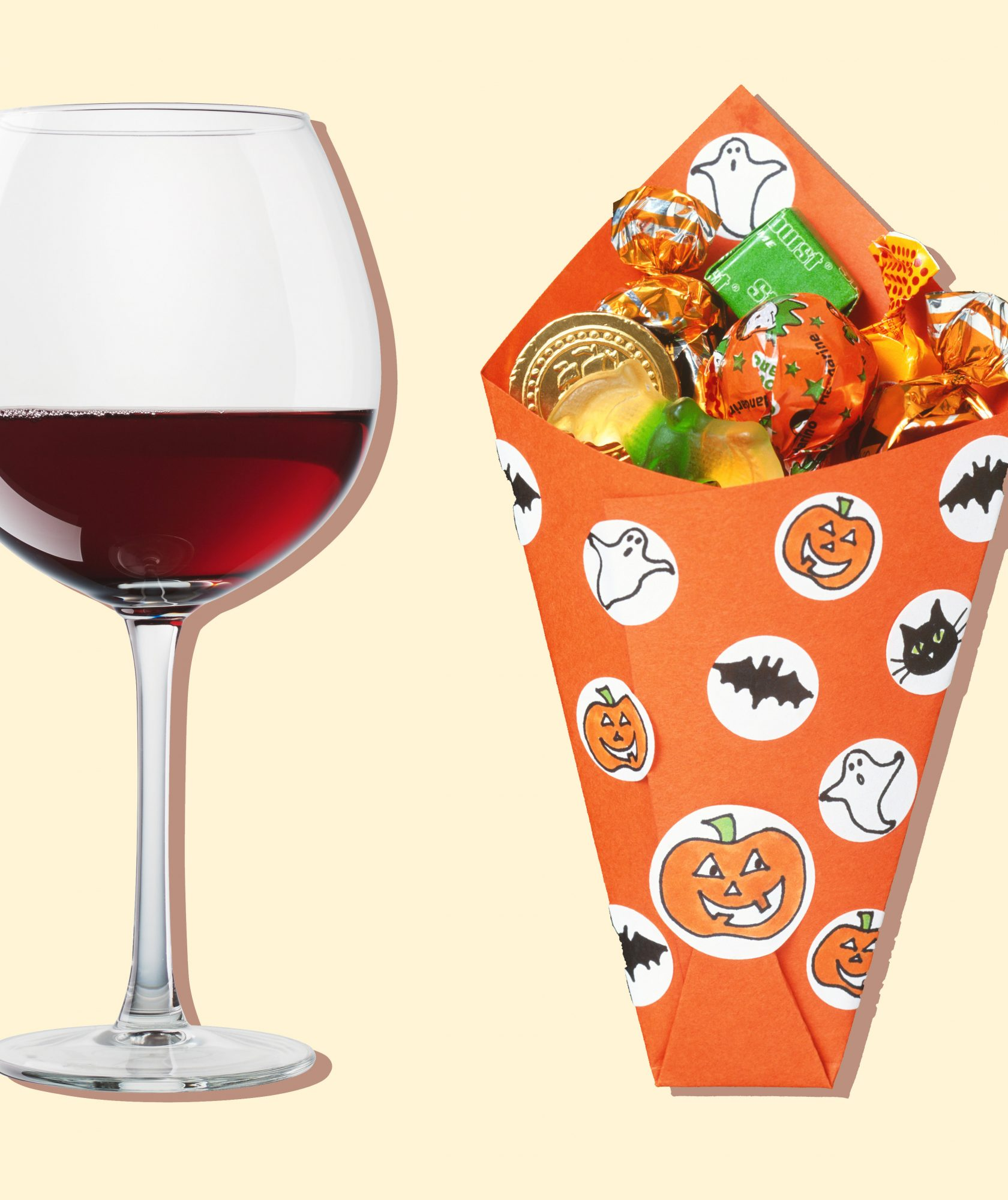 The Perfect Wines to Pair With Your Favorite Halloween Candy