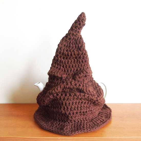 sorting hat tea cosy