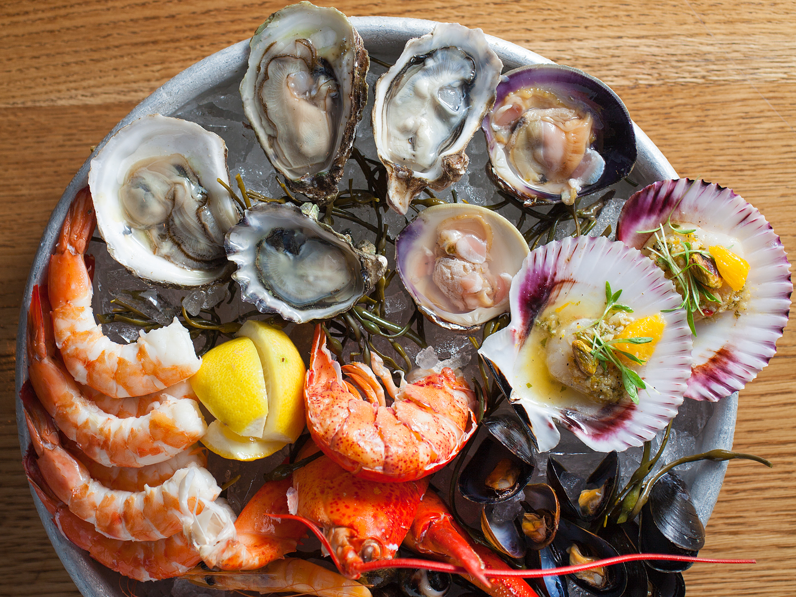 Las Vegas Water Grill Chilled Seafood Platter