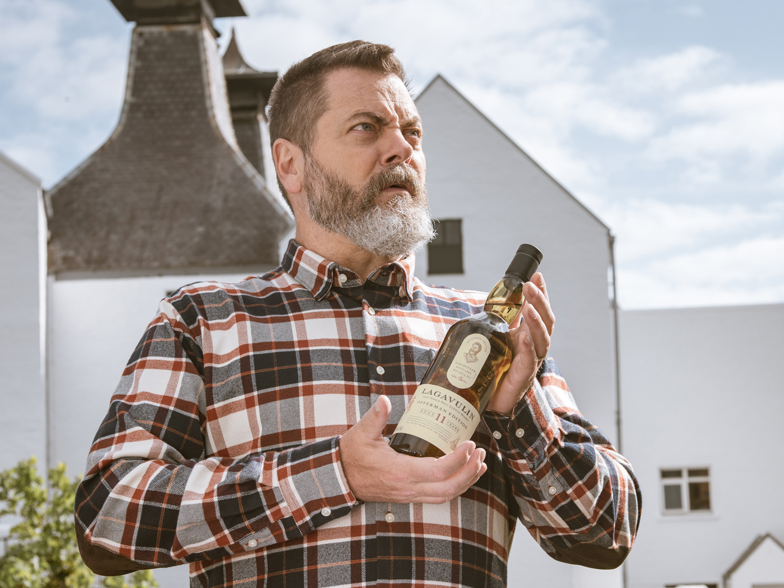 Nick Offerman Whisky Lagavulin