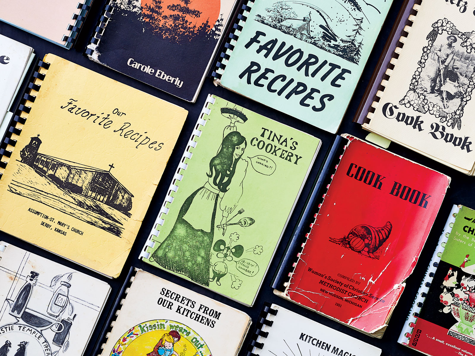 Tim Graham's Collection of Women's Community Cookery Books