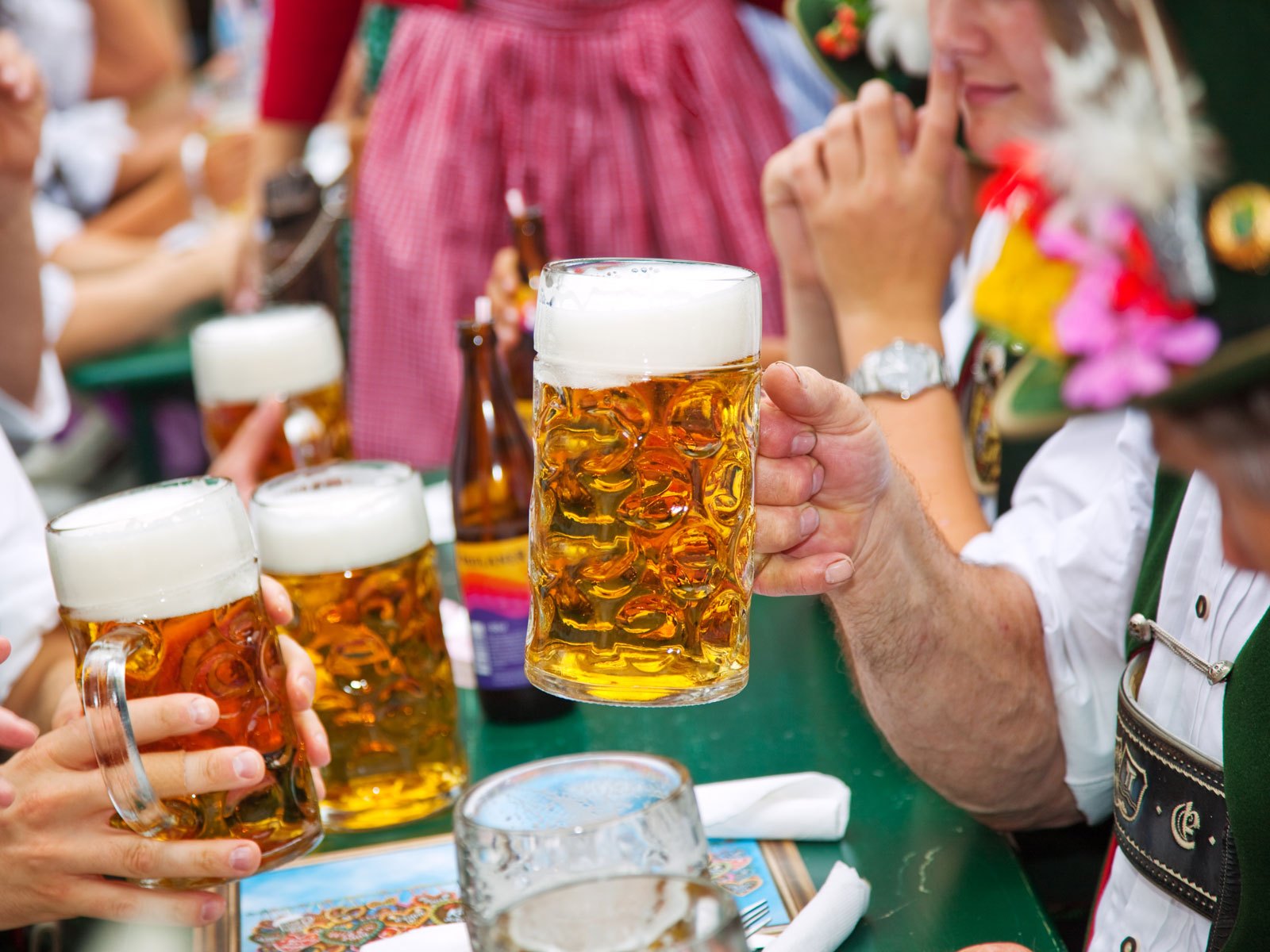 Oktoberfest Visitors Tried to Steal Nearly 100,000 Beer Mugs