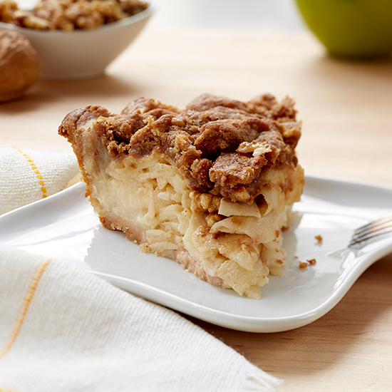 Sour Cream Apple Walnut Pie; Little Pie Company