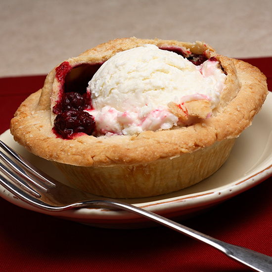 Marionberry Pie; Willamette Valley Pie Company