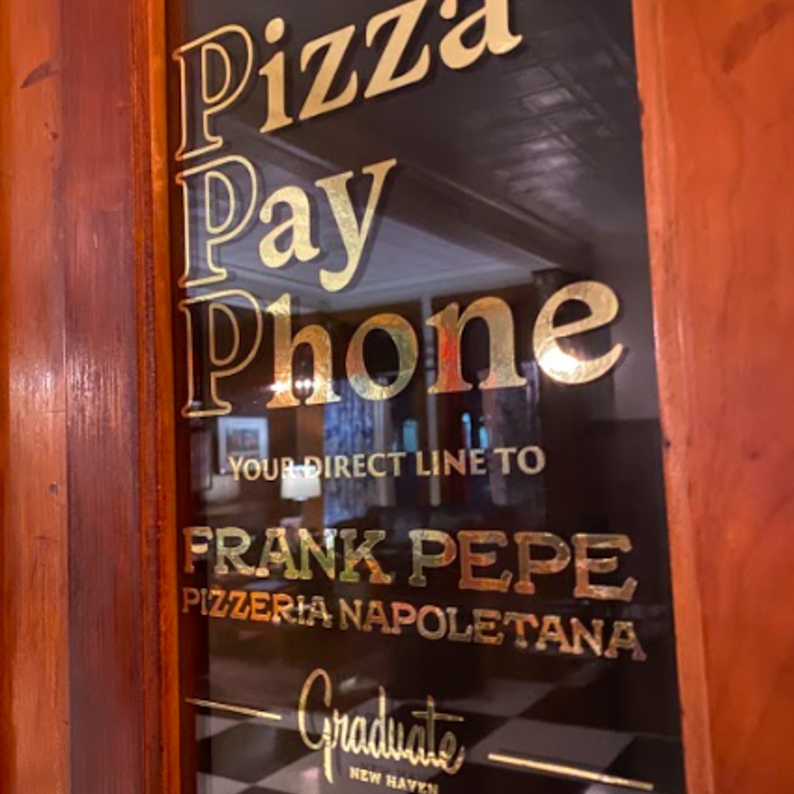 Pizza Payphone at Graduate New Haven