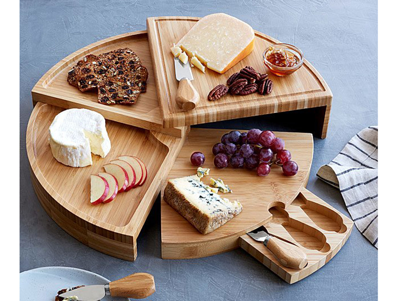 folding cheese board