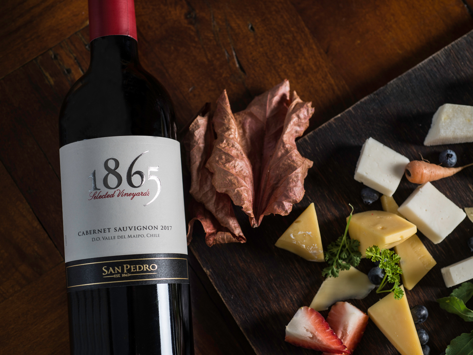 "Viña San Pedro ""1865"" Selected Vineyards Cabernet Sauvignon 2017 Maipo Valley"