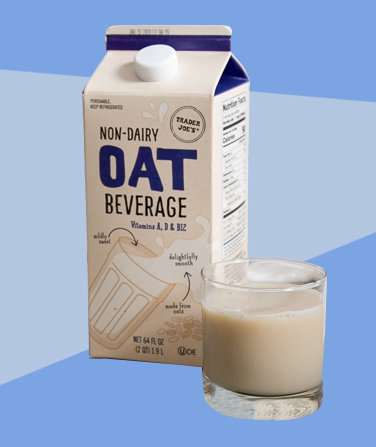 Trader Joe's Officially Sells Oat Milk—Here's What You Should Know