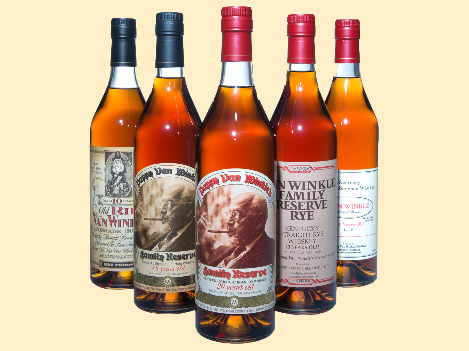Want a Bottle of Pappy Van Winkle? Here Are This Year's Release Details