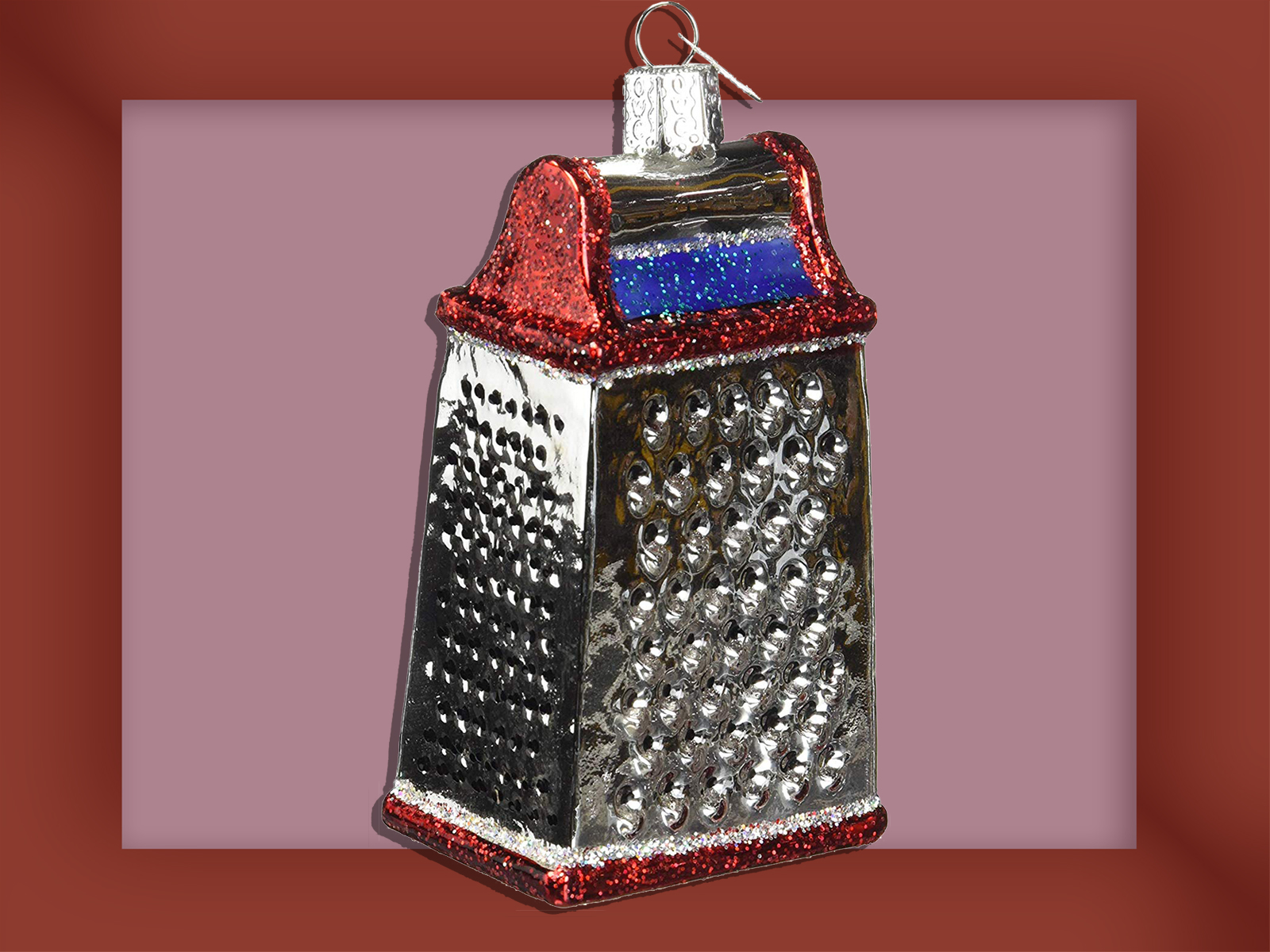 Cheese Grater Ornament
