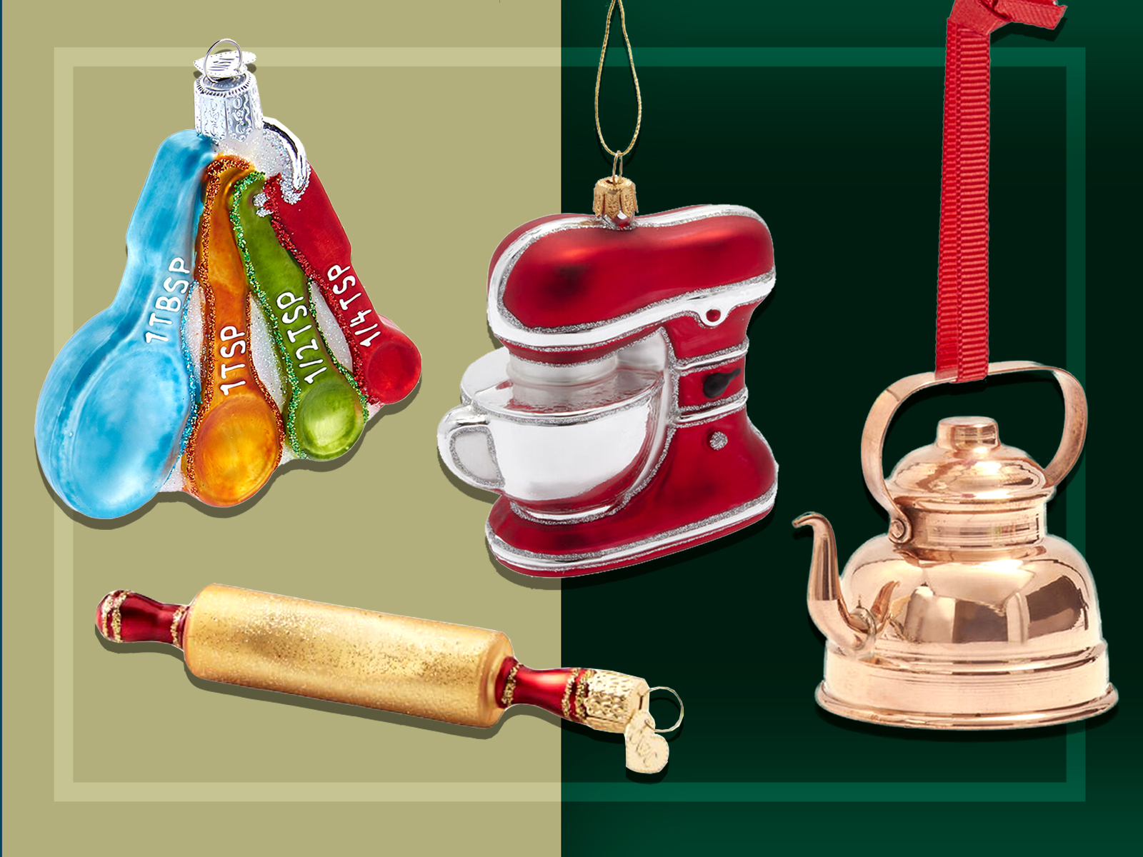 Kitchen Tool Ornaments