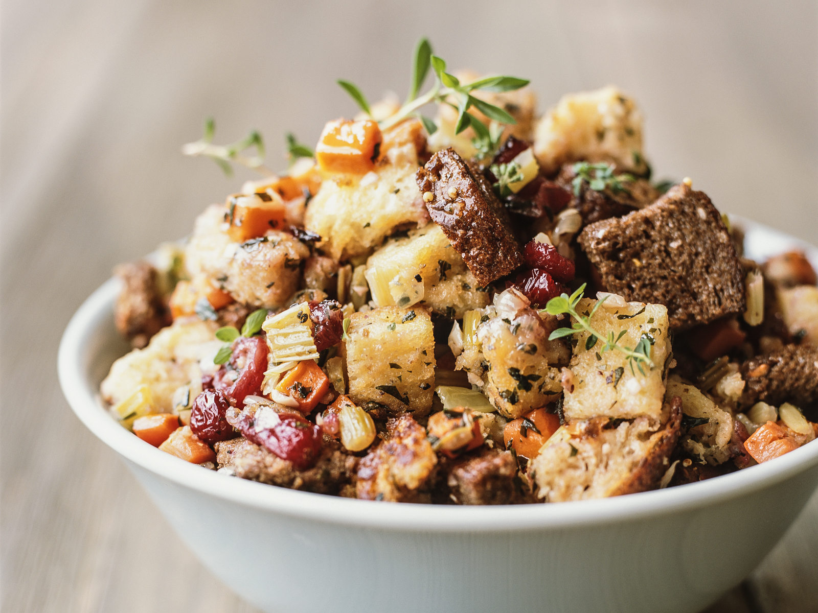 Stuffing with Cranberries
