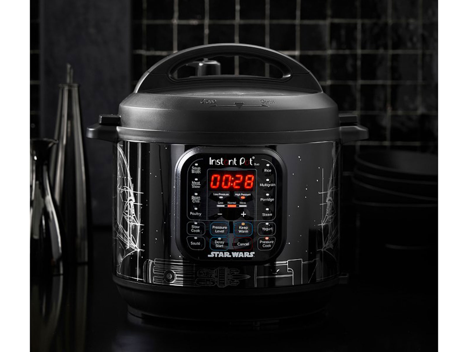 darth vader star wars instant pot