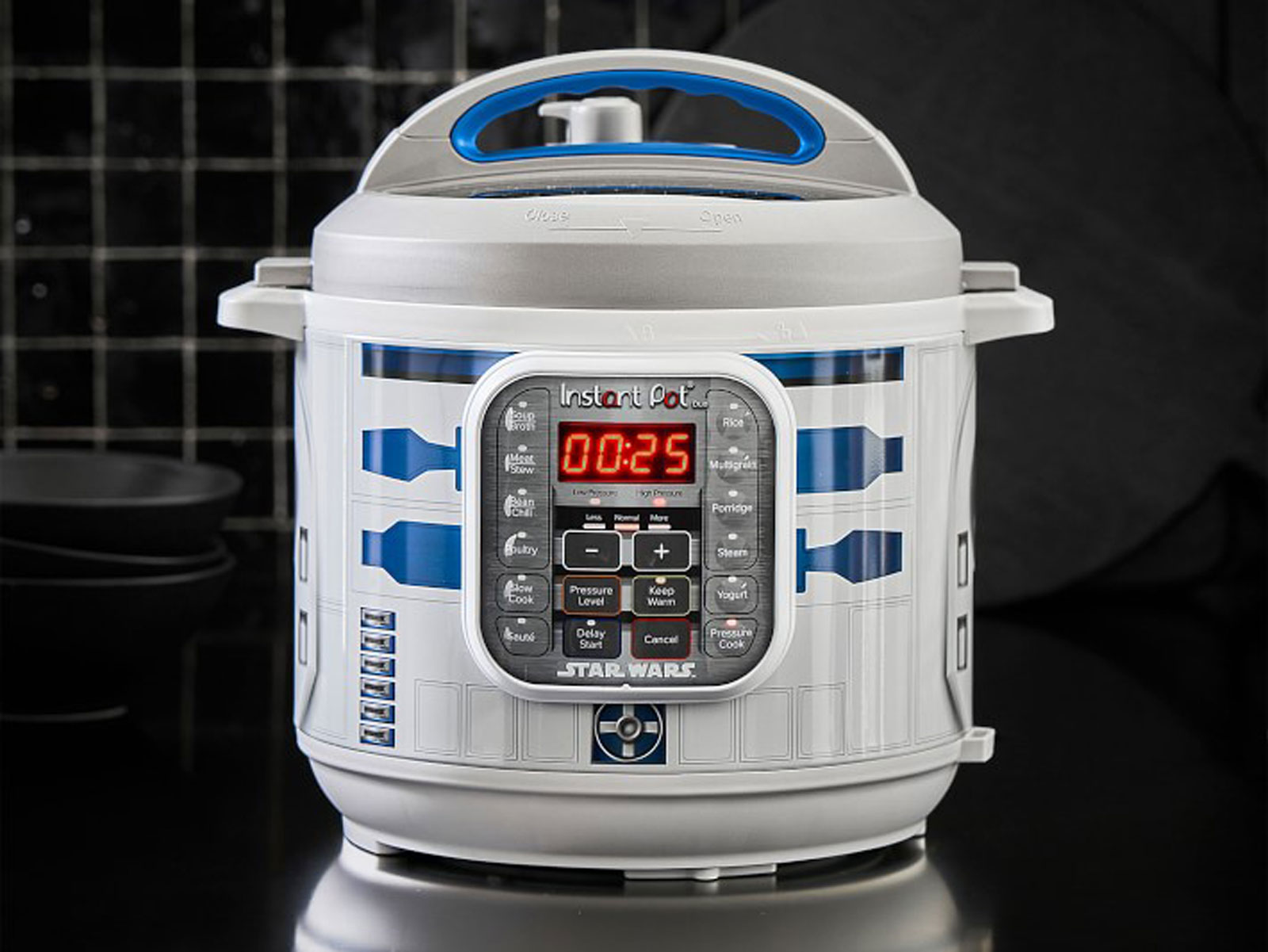 r2d2 star wars instant pot