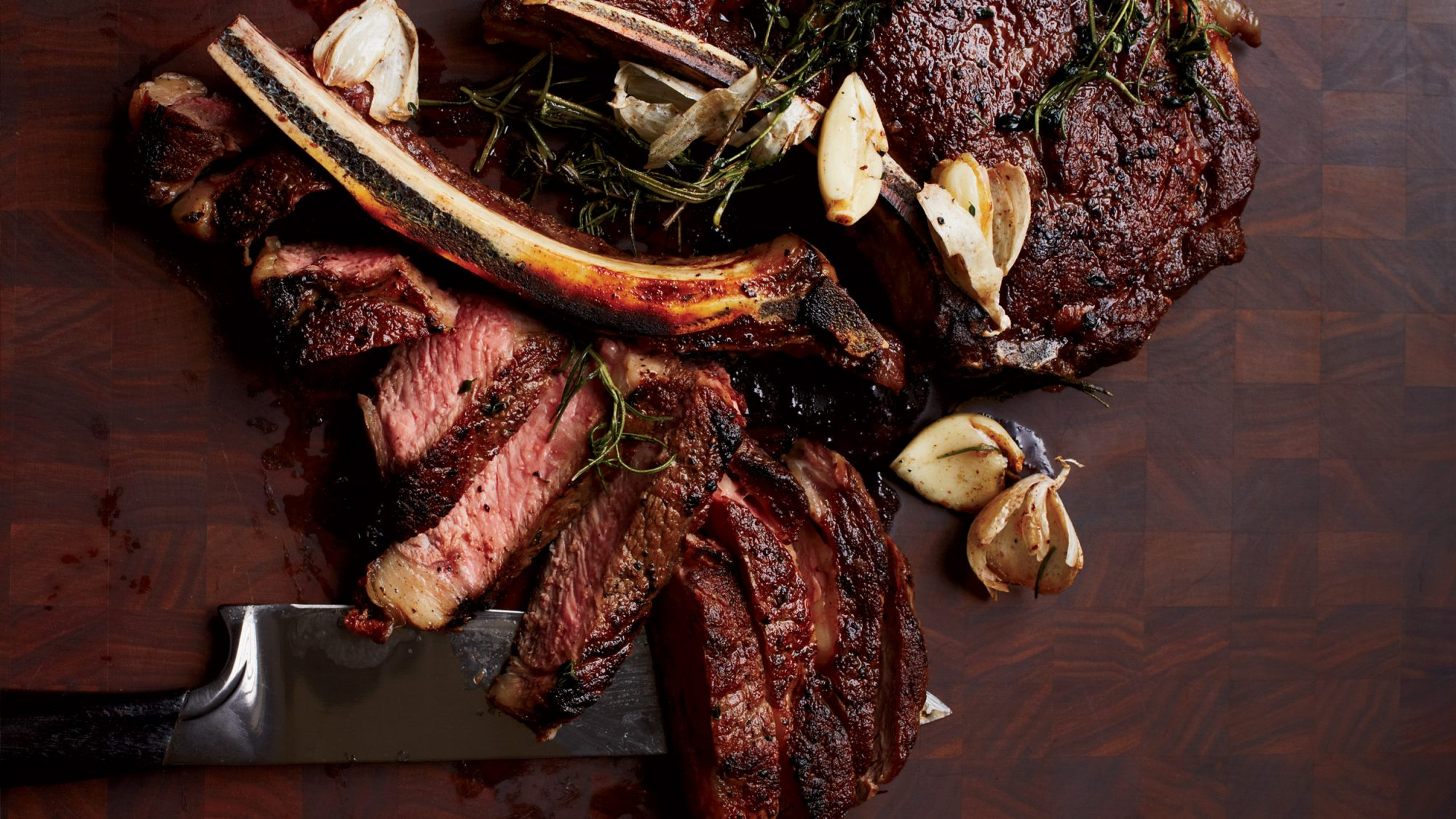 Butter-Basted Rib-Eye Steak